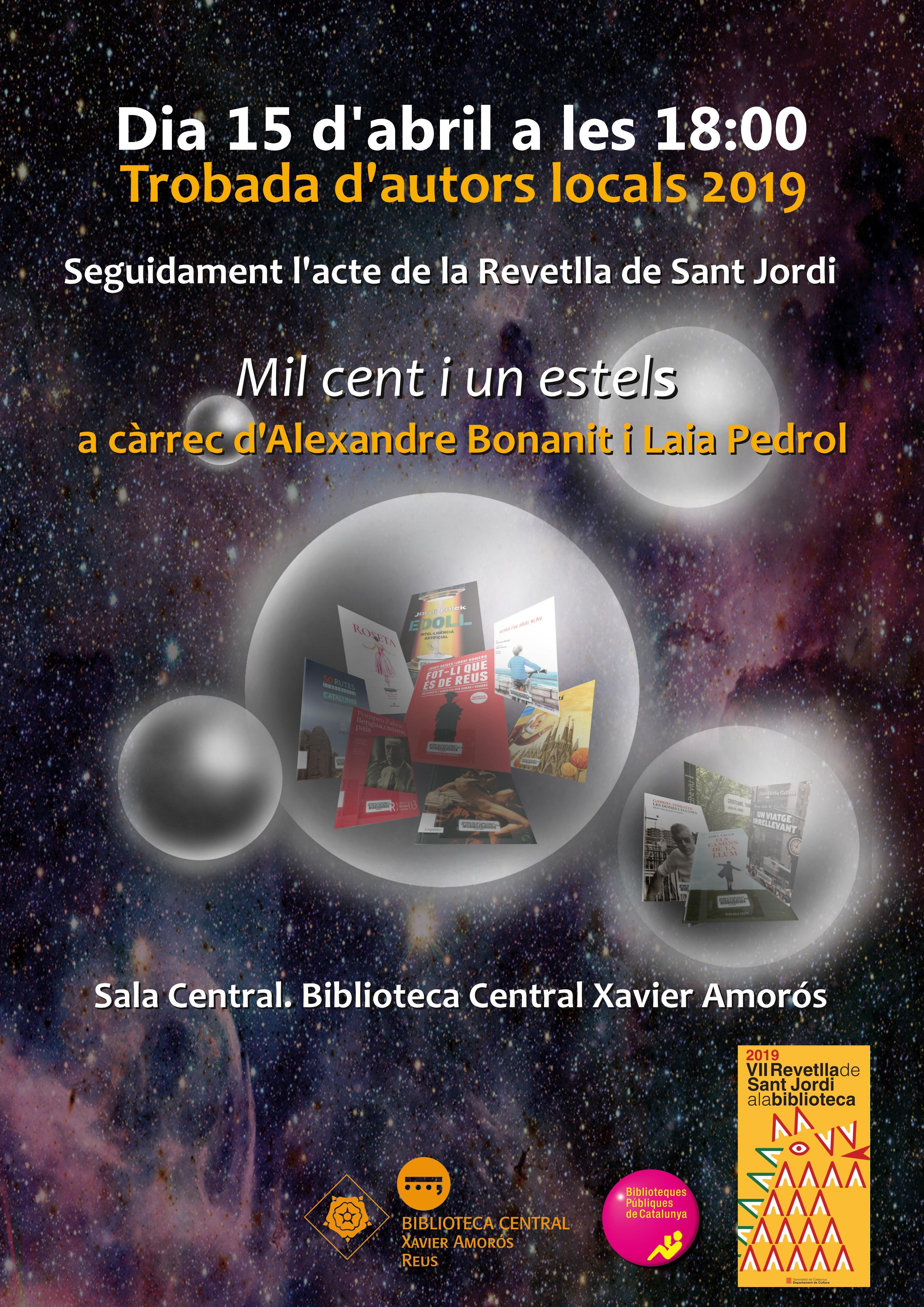 Trobada d'autors locals Sant Jordi 2019