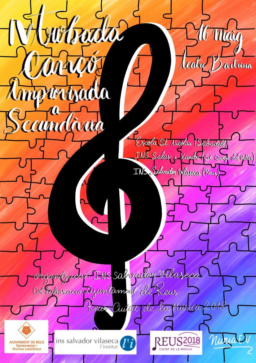 IV Trobada de Cançó Improvisada a Secundària