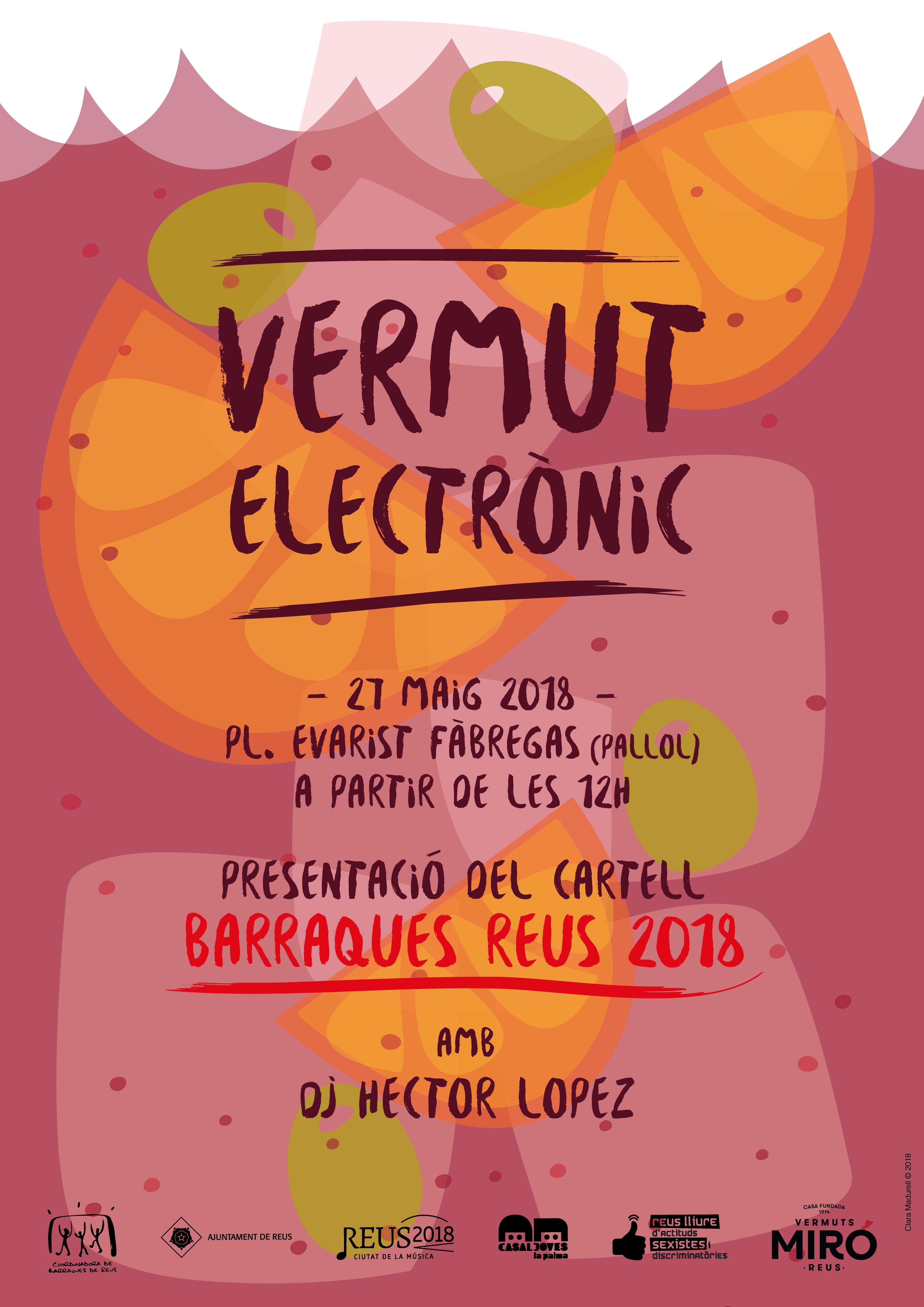 Presentació del cartell de les Barraques 2018 i vermut electrònic