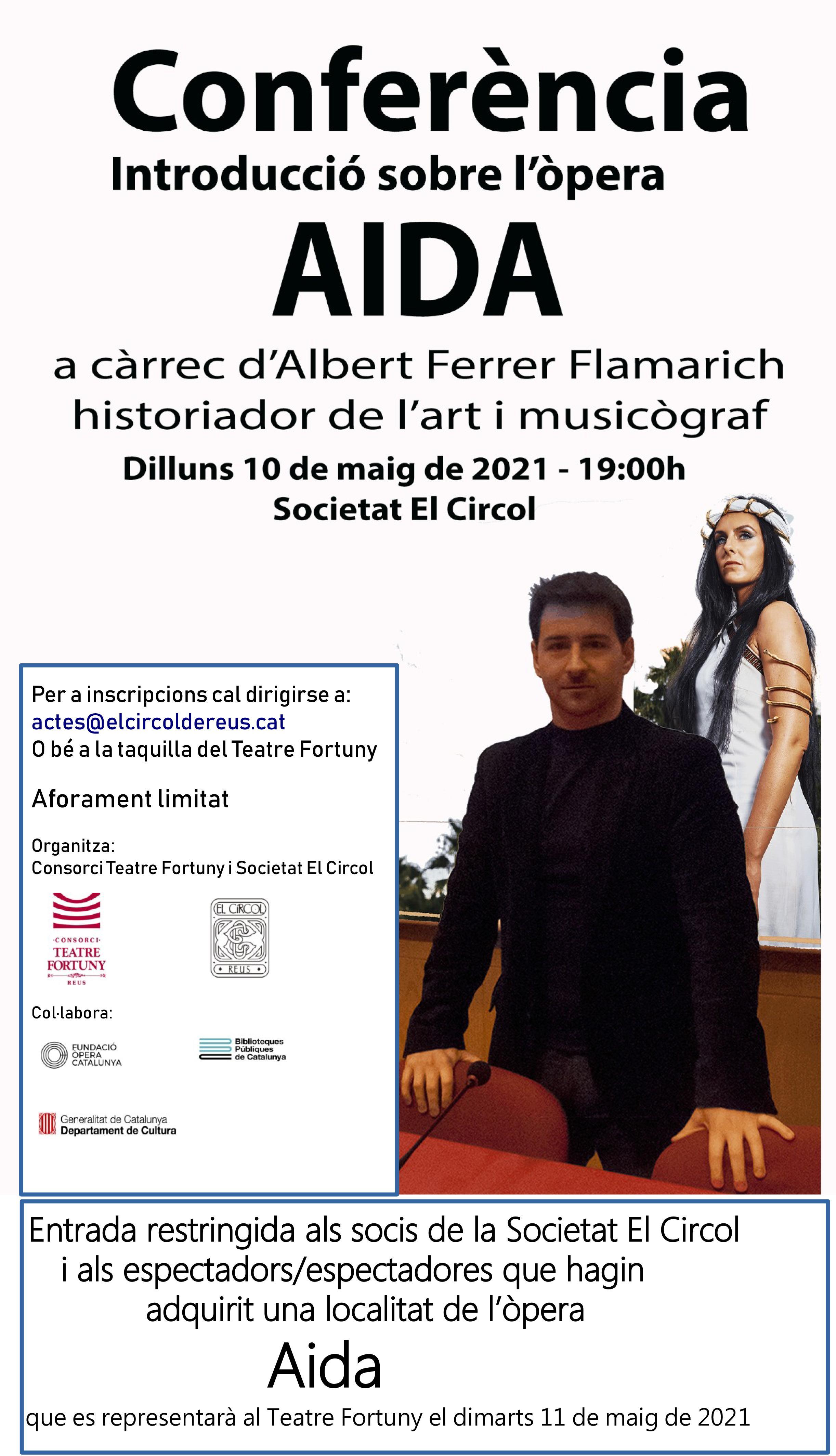 Conferència - introducció sobre l'òpera AIDA