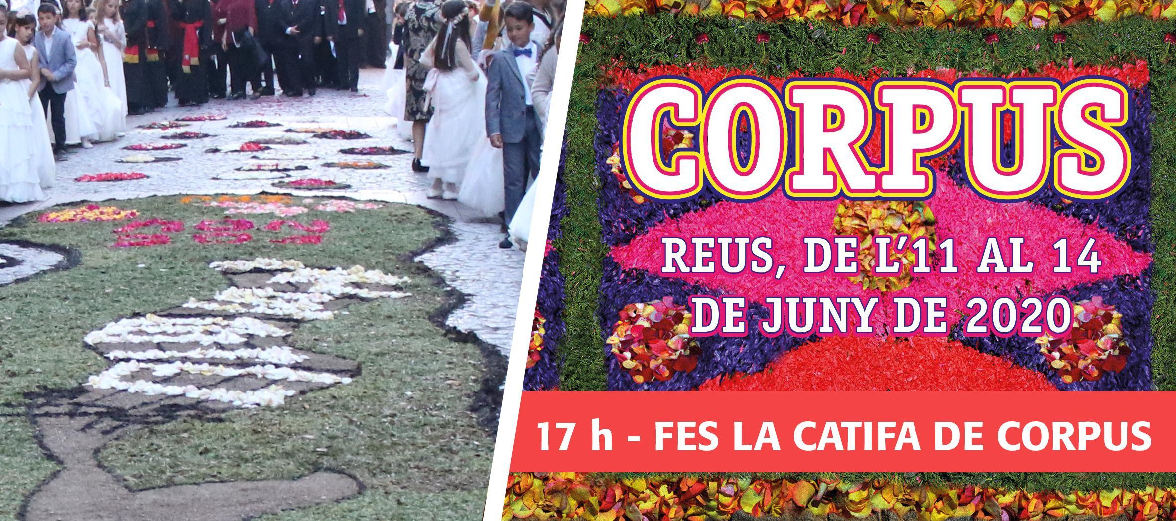 Corpus 2020: Fes la catifa de Corpus