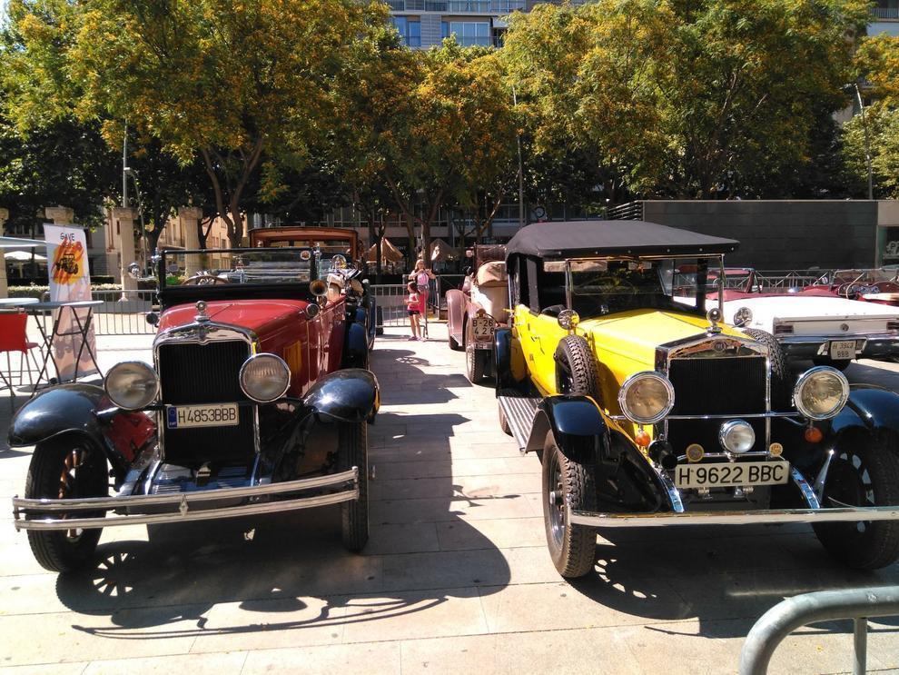 Sant Pere 2021: exposició de vehicles emblemtics dels anys 1910-1960