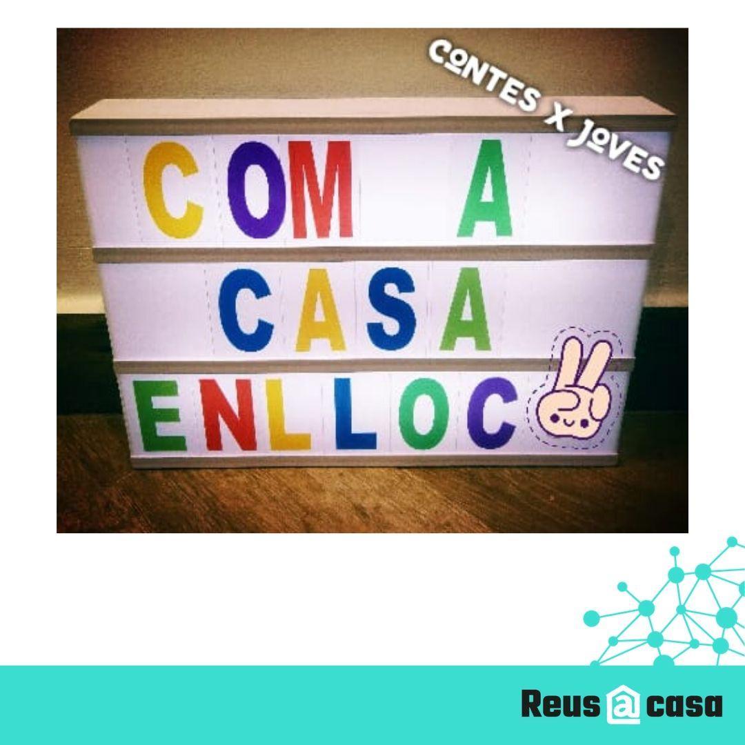 COM A CASA ENLLOC 29/05/20