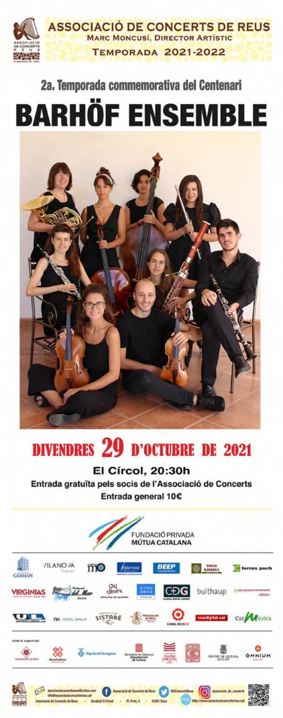 Concert del Barhöf EnsembleE
