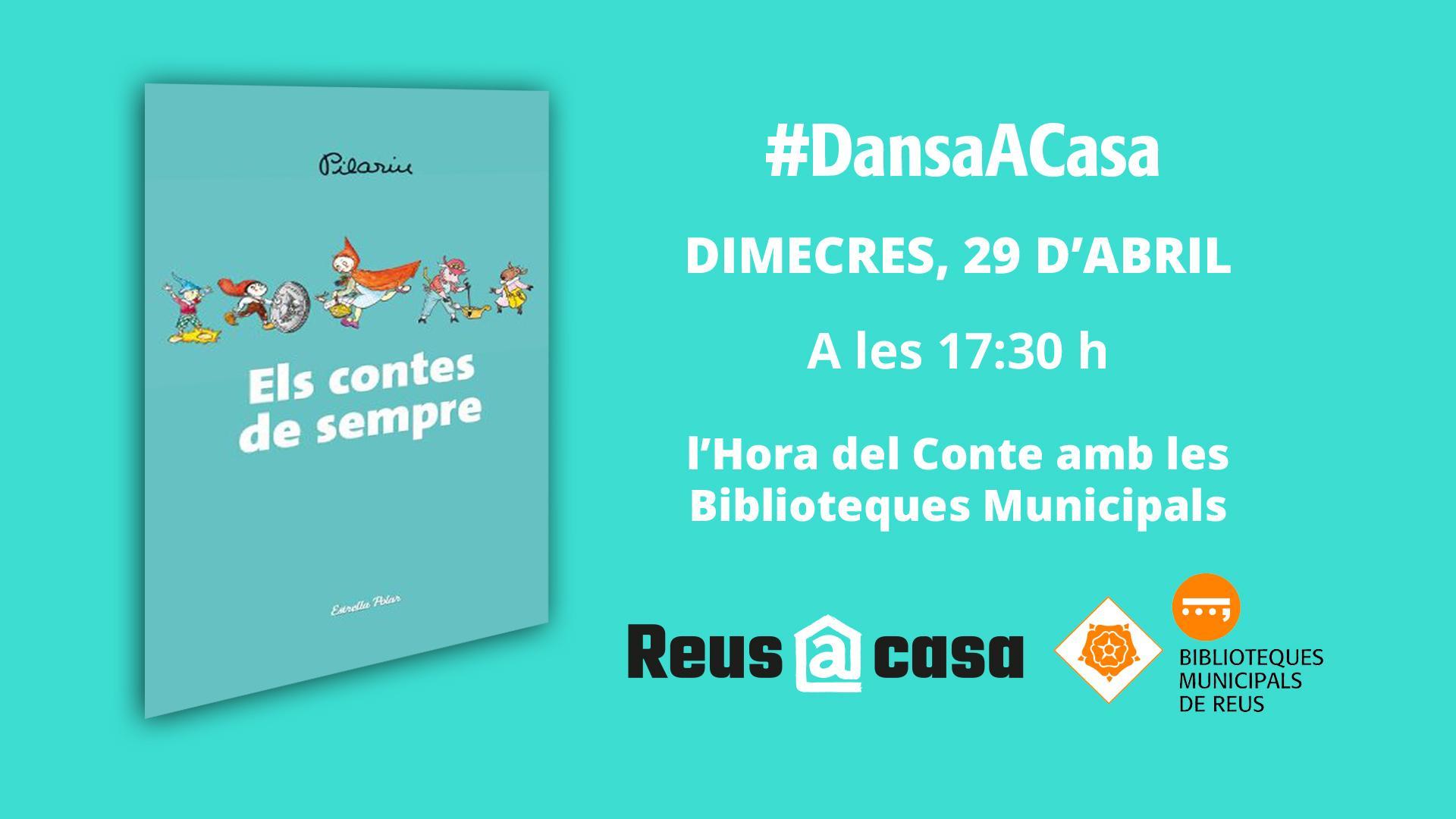 DansaACasa: L'hora del Conte amb les Biblioteques Municipals