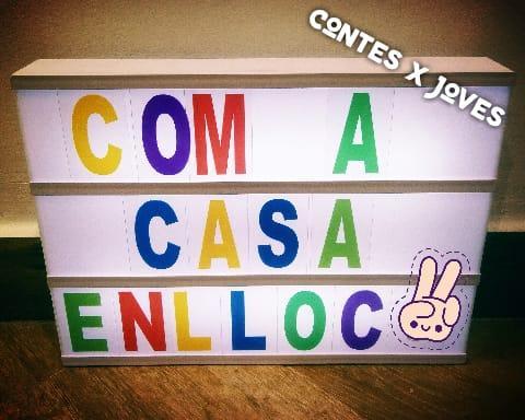 COM A CASA ENLLOC 8/04/20