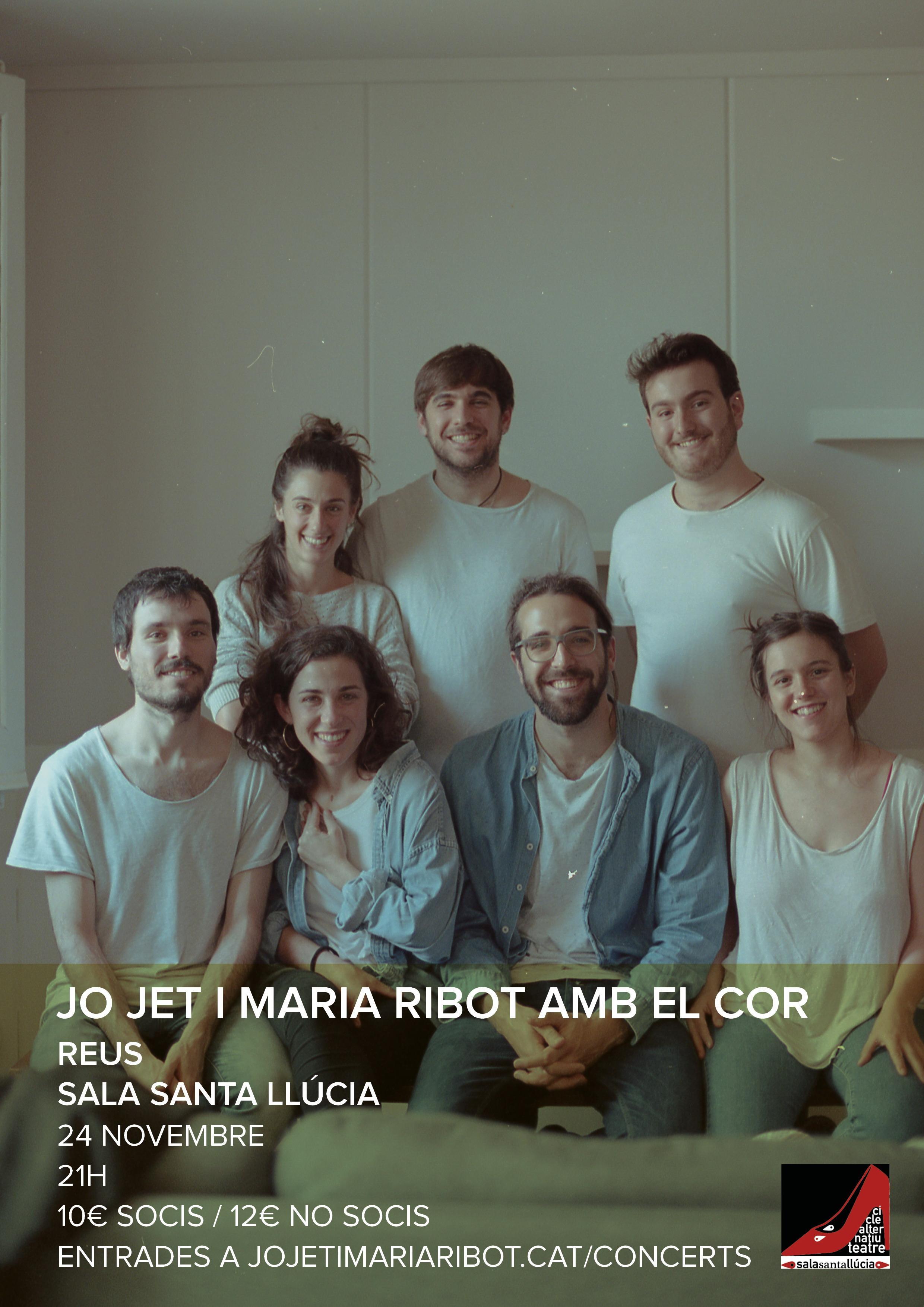 ACCENTS 2018 - Presentació del seu nou disc Jo Jet i Maria Ribot amb el cor