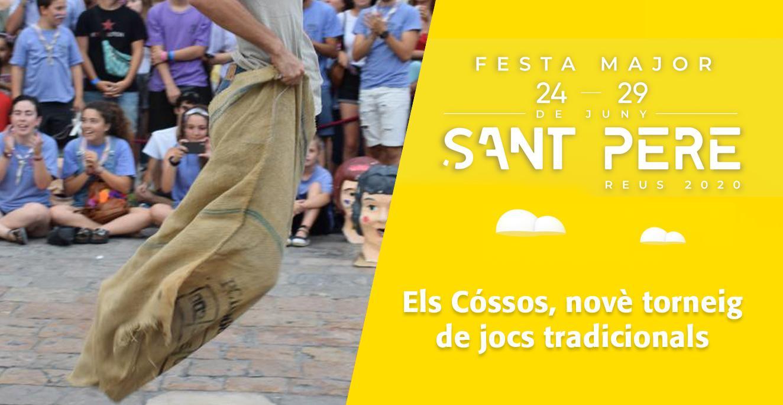 Sant Pere 2020: Els Cóssos, novè torneig de jocs tradicionals