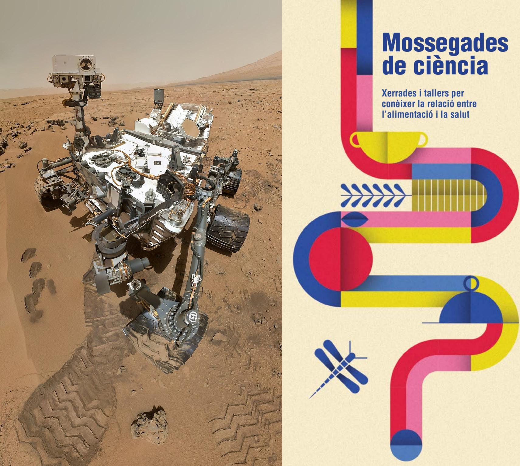 Astronautes del Curiosity. Mossegades de ciència
