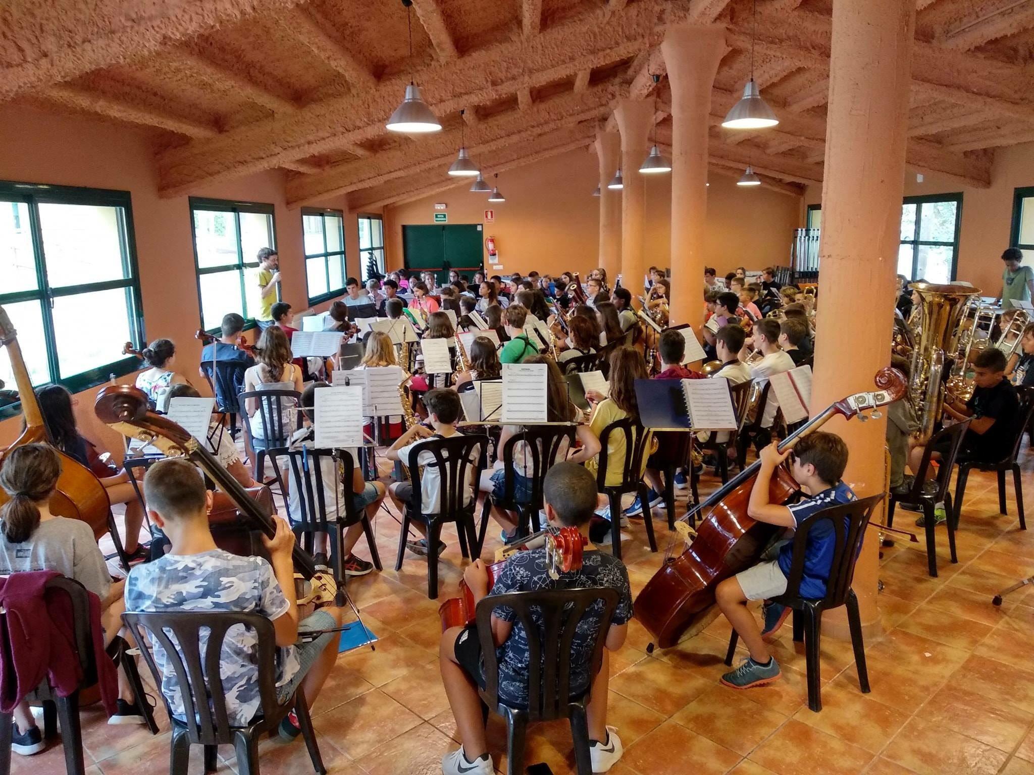 Concert de la Banda Simfònica Infantil Nacional de Catalunya