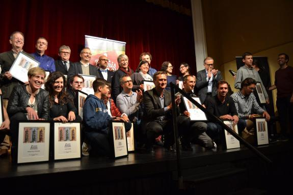 Lliurament dels Premis Amenós als que Més Enganxen del Món de ReusE