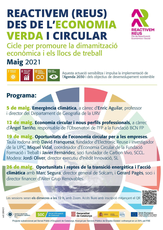 Seminari web: Economia circular i nous perfils professionals