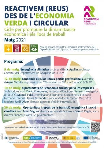 Seminari web: Oportunitats i reptes de la transició energètica i l'acció climàtica