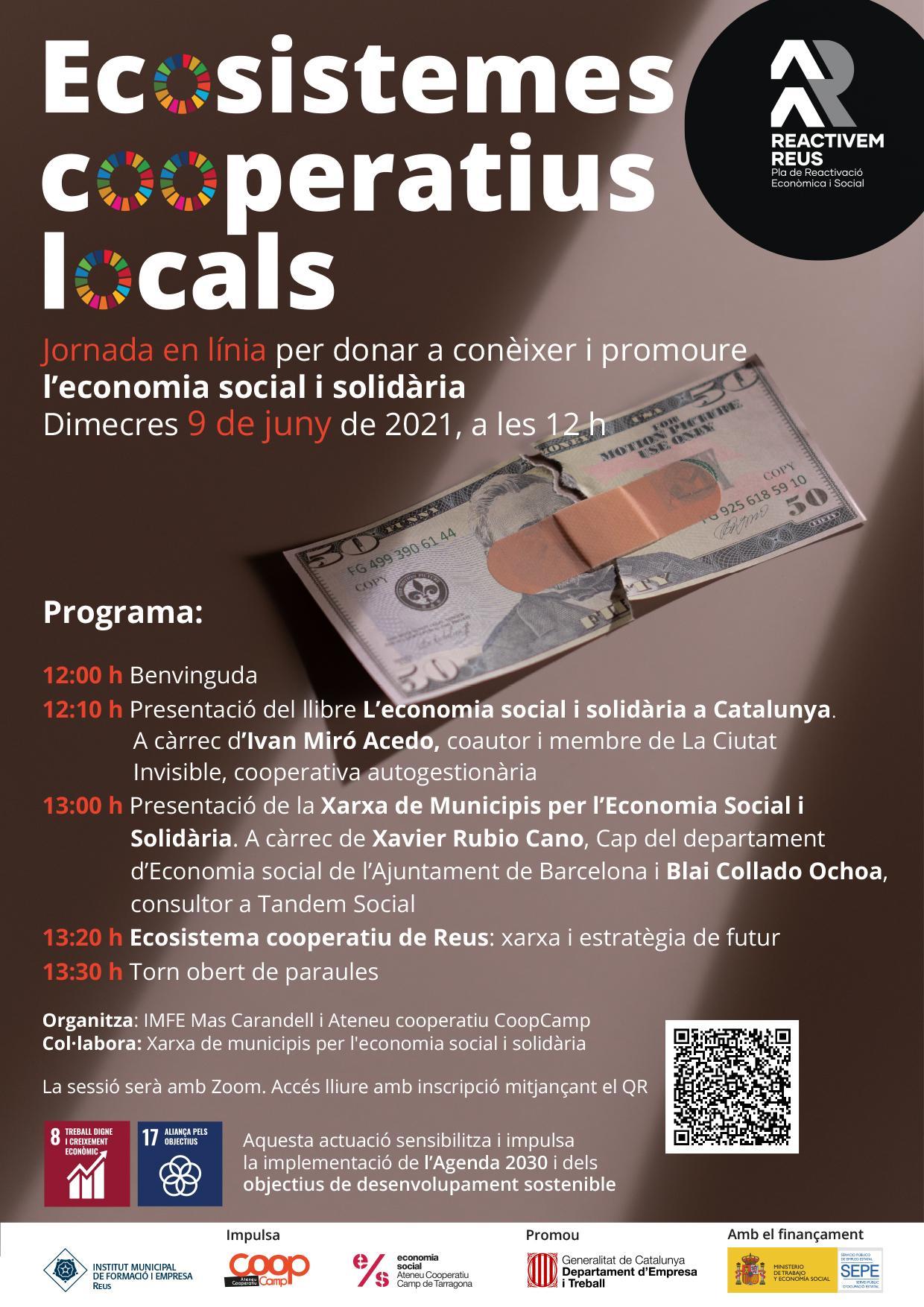 Jornada: Ecosistemes cooperatius locals
