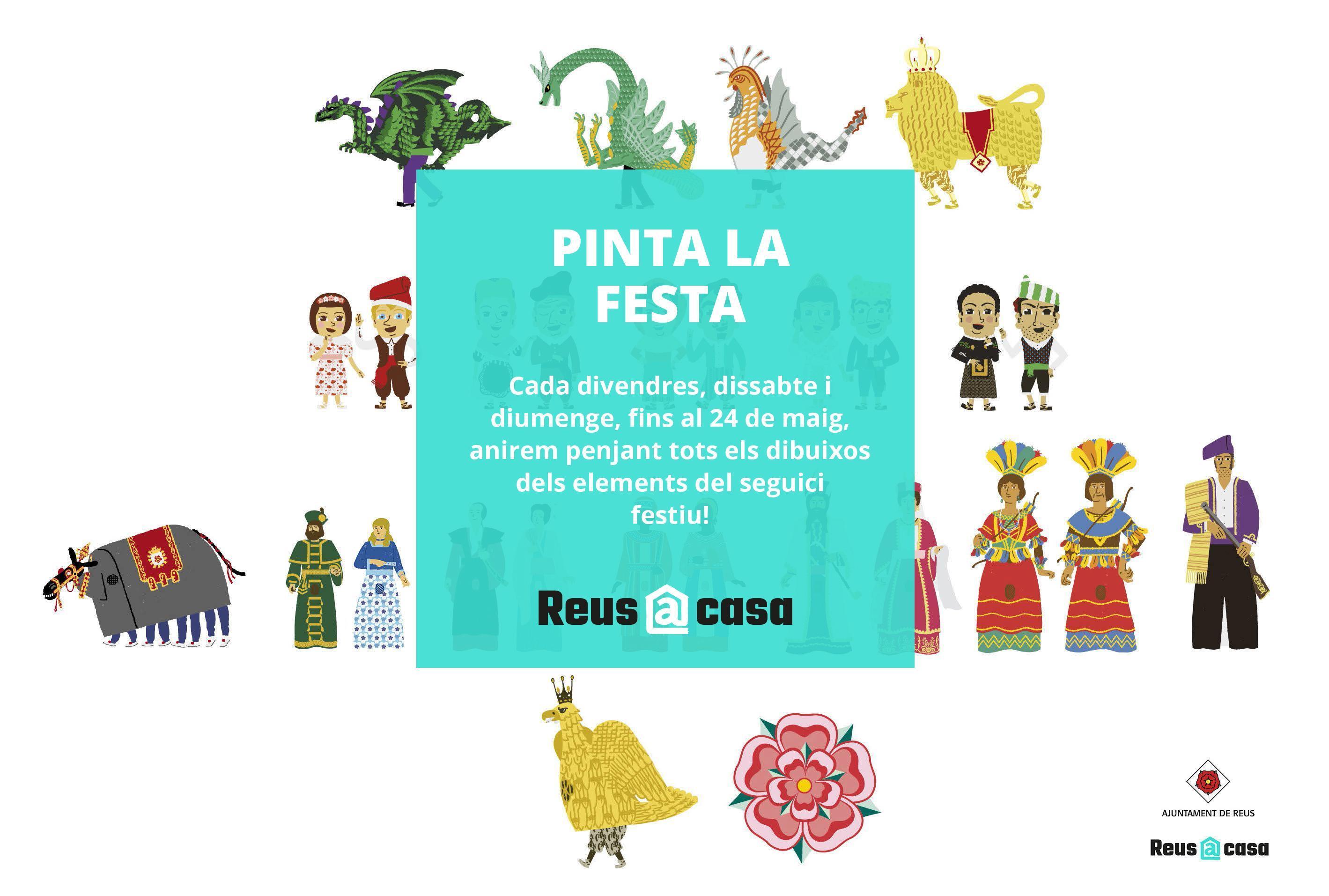 Pinta la Festa: Gegants Moros