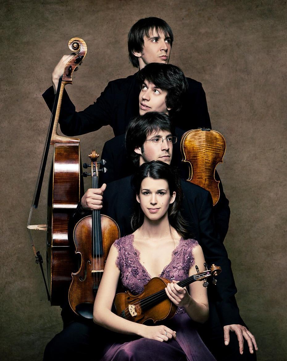 Club Apunt de música: I fa l'aire invisible a càrrec de Quartet Gerhard