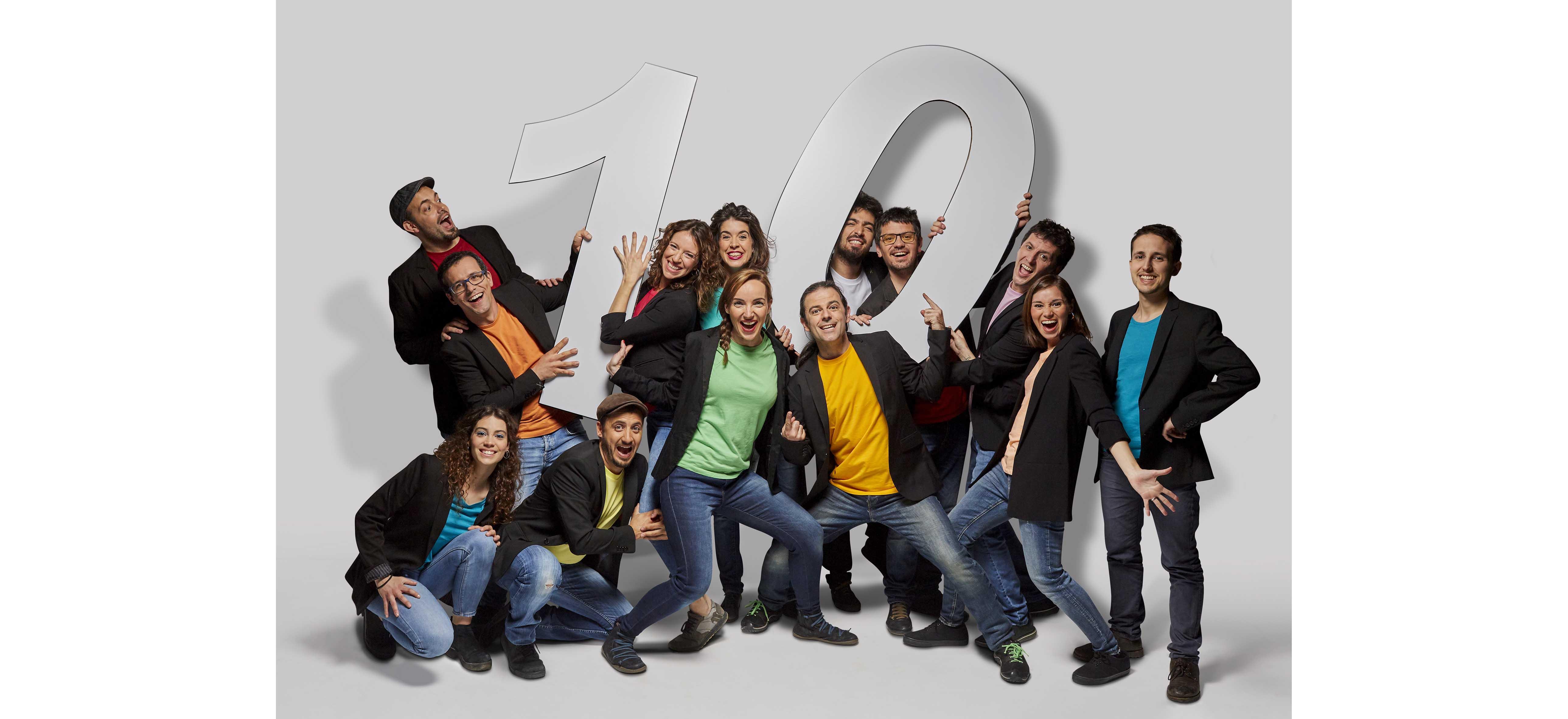 10 anys amb El Pot Petit representació reprogramada diumenge 22 de desembre 17:30h