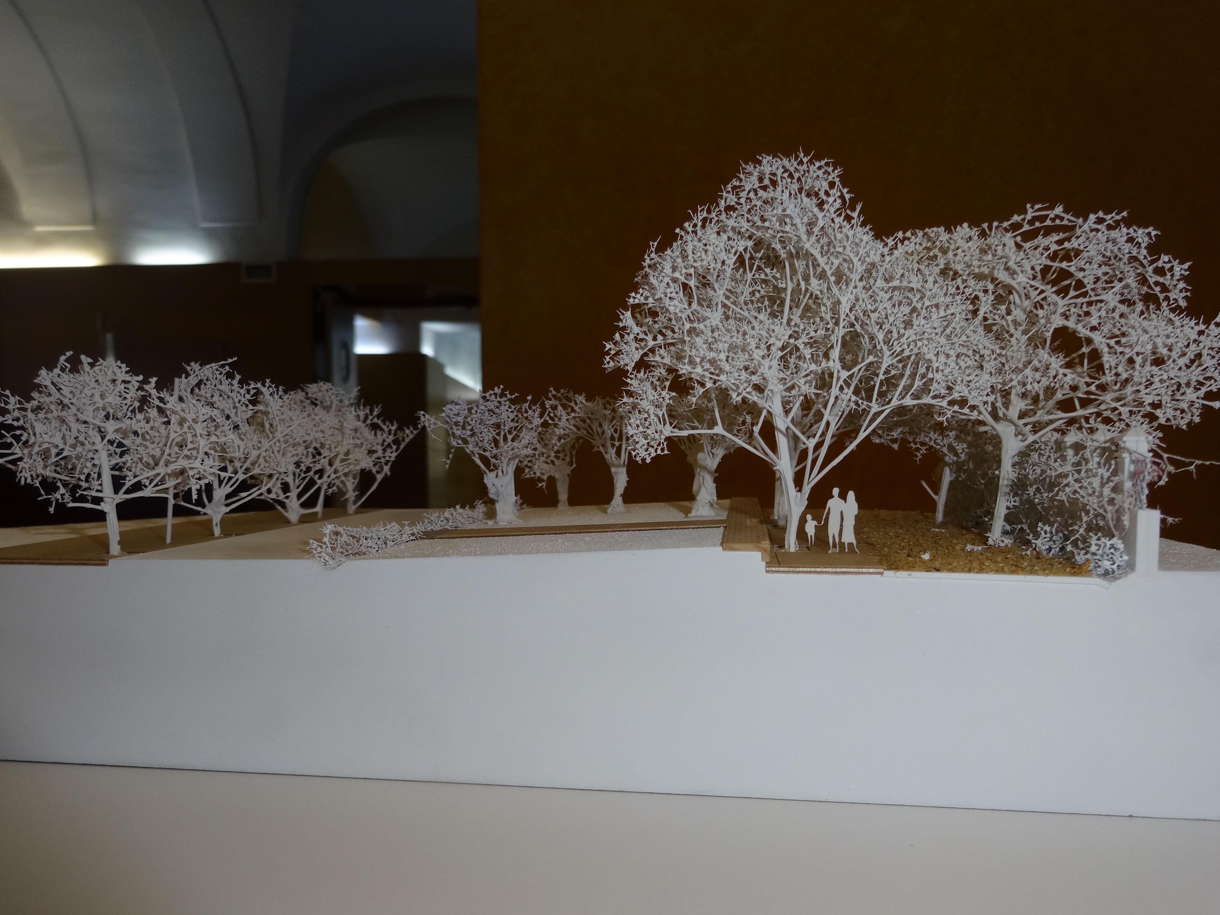 Exposició sobre el projecte del passeig de la Boca de la Mina