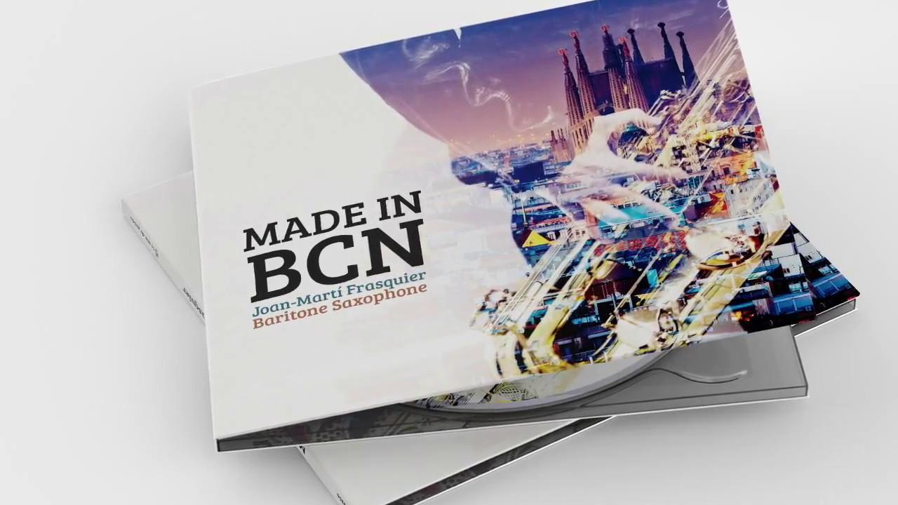 Presentació del disc Made in BCN de Joan Martí-Frasquier