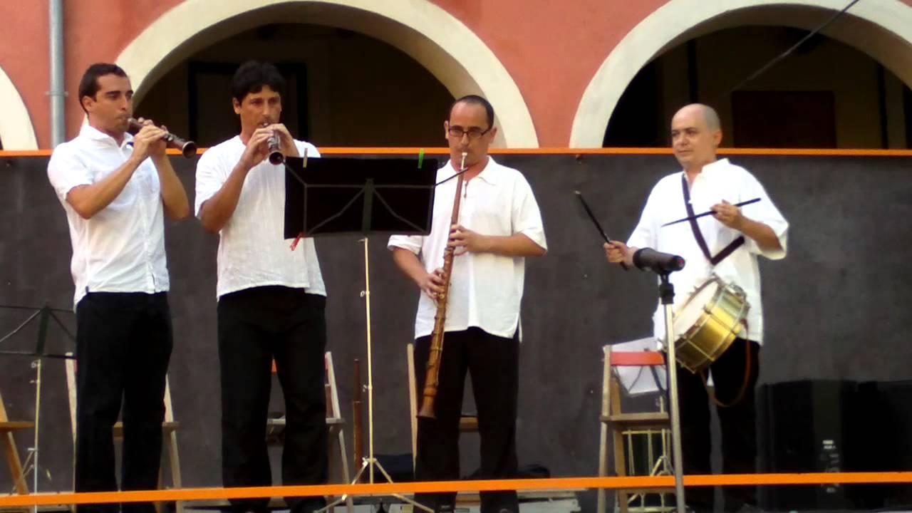 Sant Pere 2021: concert de gralles amb els grups Ganxets, grallers del Baix Camp i Canya d'Or