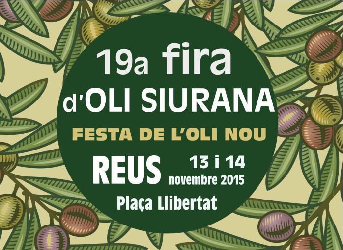 19a Fira de l'Oli Siurana. Festa de l'Oli Nou