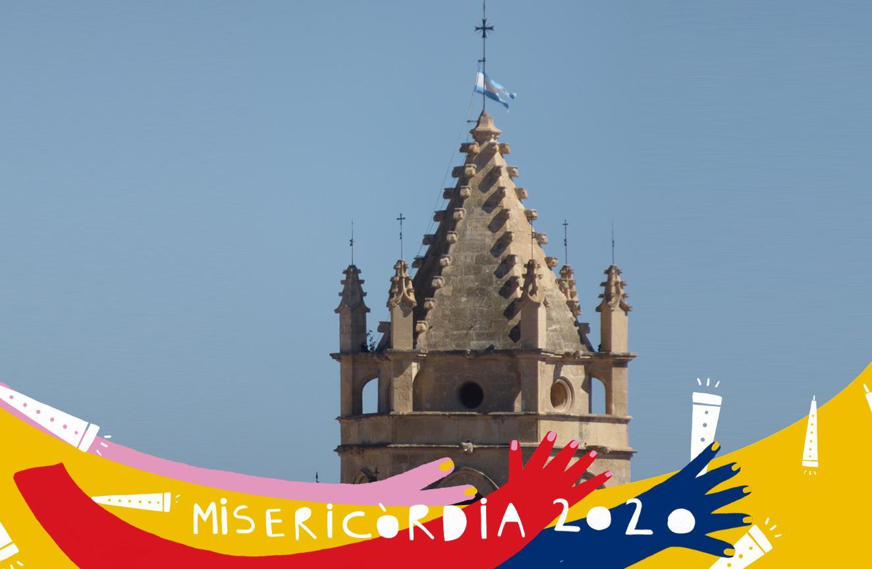 Misericòrdia 2020: hissada de la bandera mariana com a inici de les festes de Misericòrdia