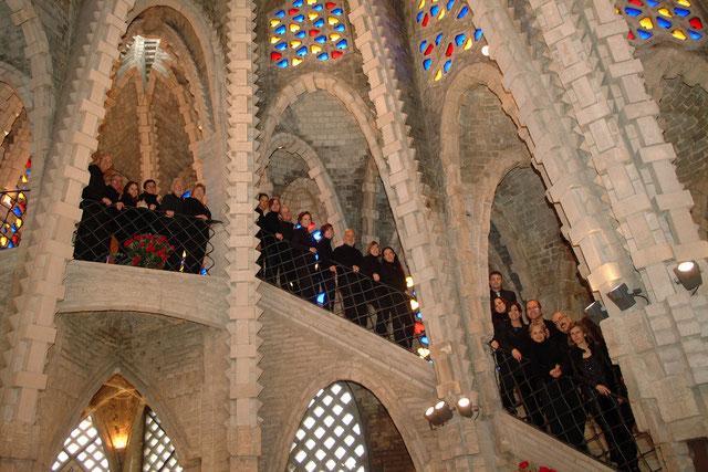 Missa cantada i concert del Cor The Issel's SingersE