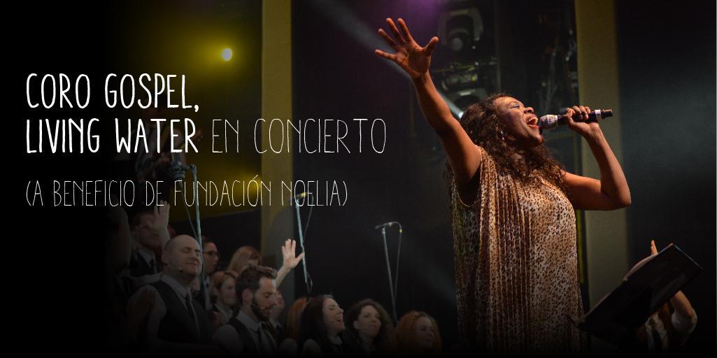Living water en concert, coro gospel