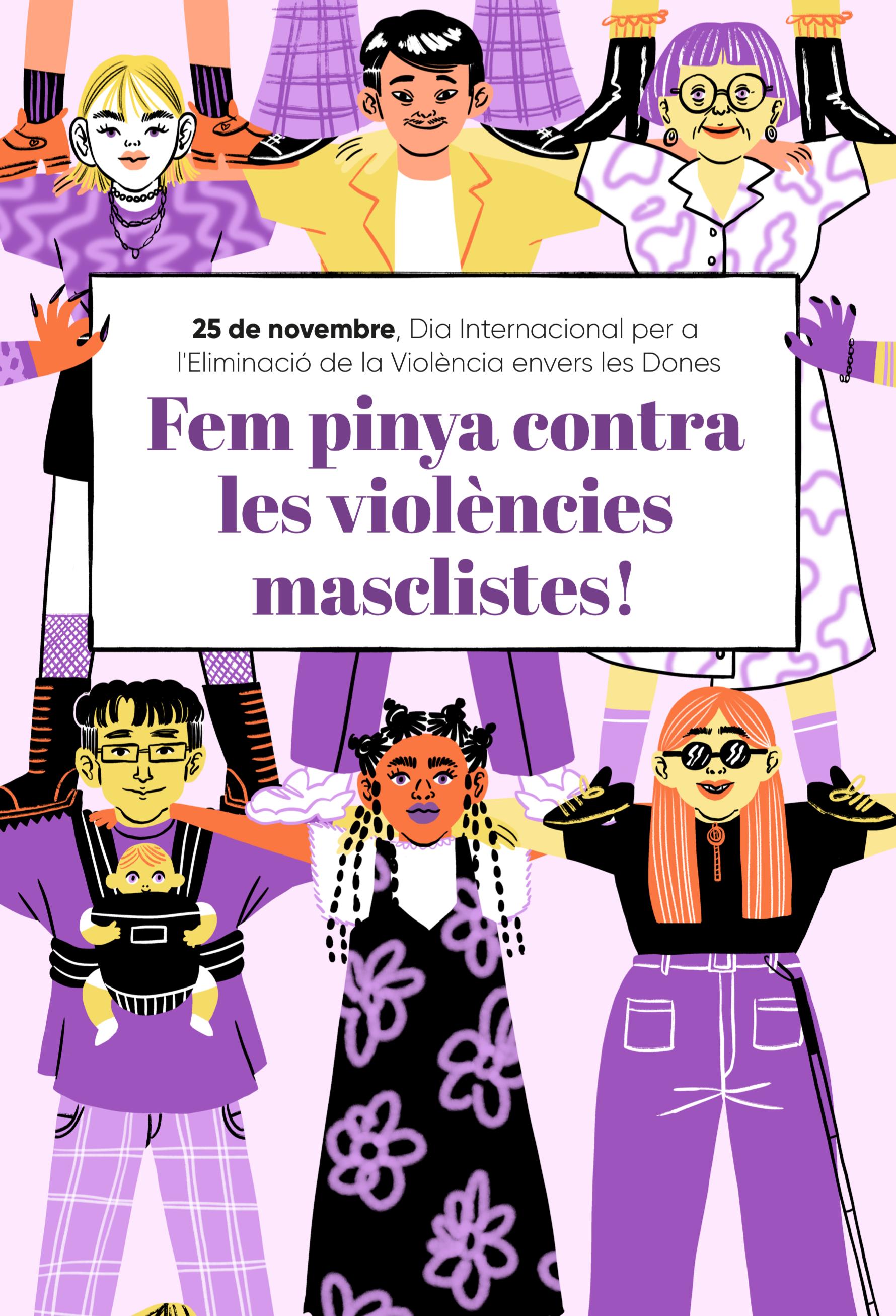 25 de novembre, Dia Internacional per a l'Eliminació de la Violència envers les Dones