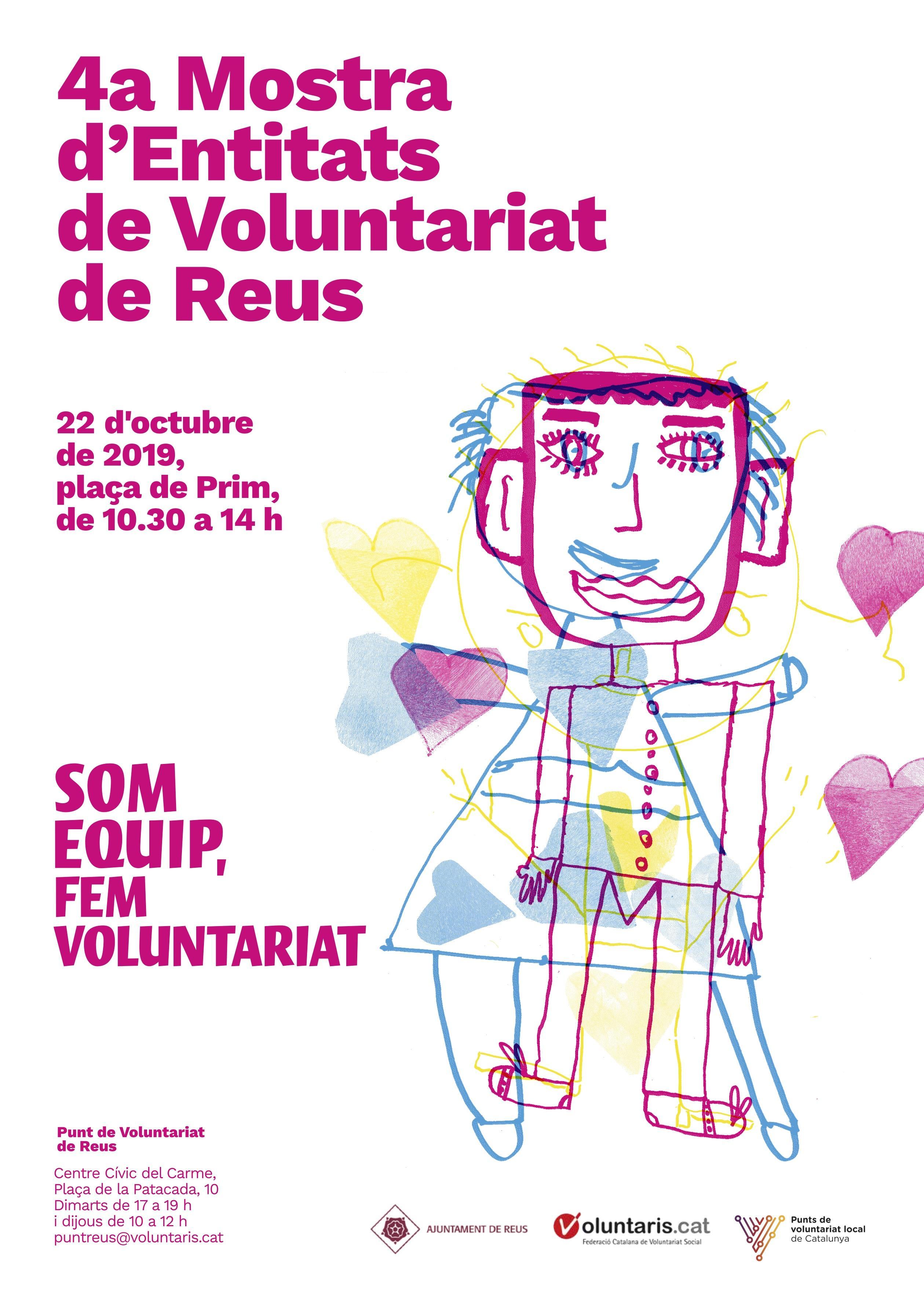 4a Mostra d'Entitats de Voluntariat de Reus (suspesa)
