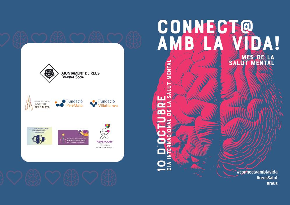Inauguració de l'exposició «Connect@ amb la vida!» i taula Inaugural «Trenquem els mites del suïcidi. Dues mirades»