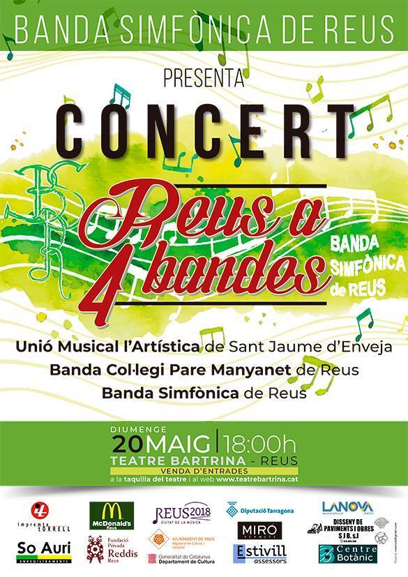 Concert del cicle Reus a 4 Bandes