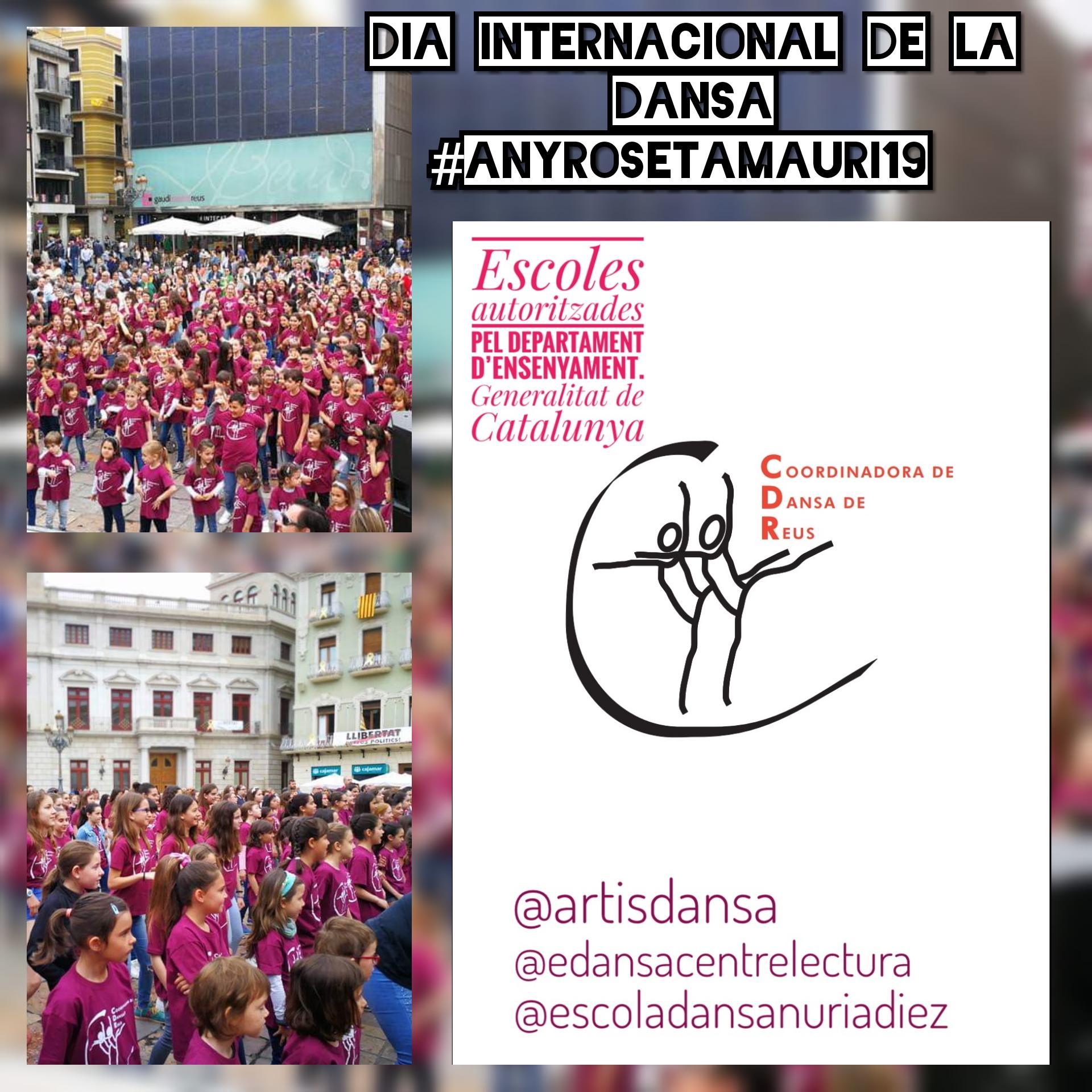Celebració del Dia Internacional de la Dansa