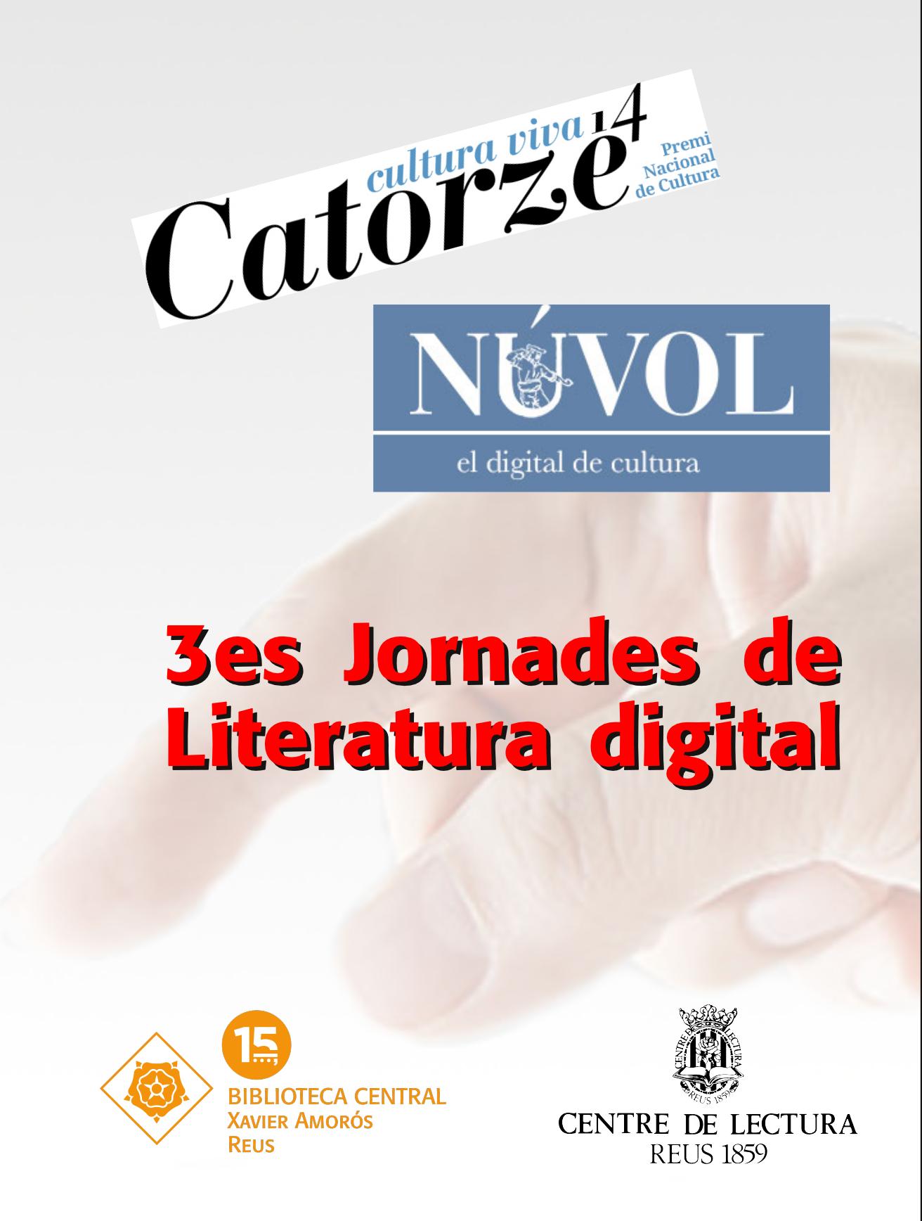 Conferència Jornades de Literatura digital