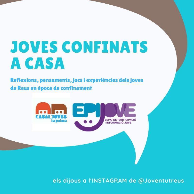 JOVES CONFINATS A CASA 09/04/2020