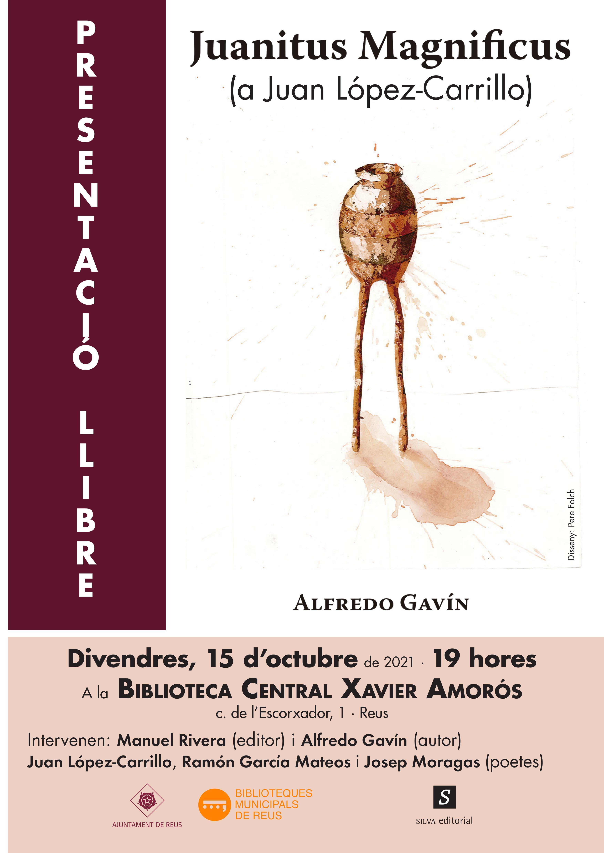 Presentació del llibre d'Alfredo Gavín