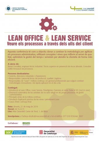 Lean office & Lean service: veure els processos a través dels ulls del client