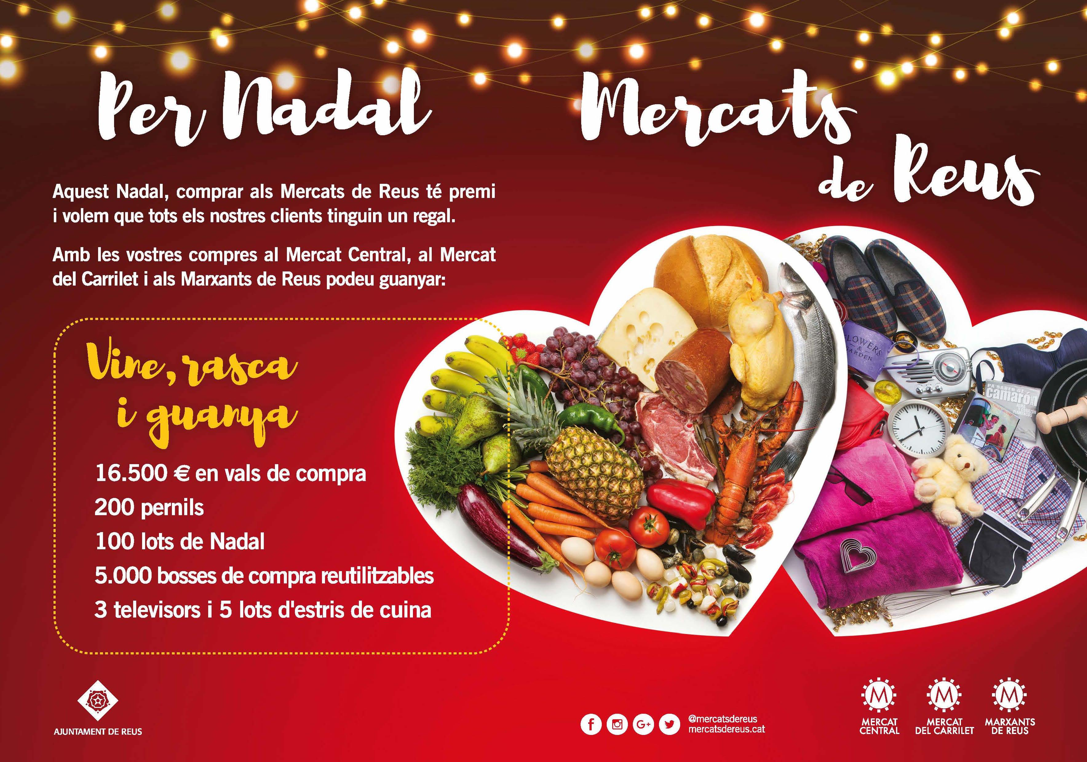 Pessebre de clicks al Mercat Central