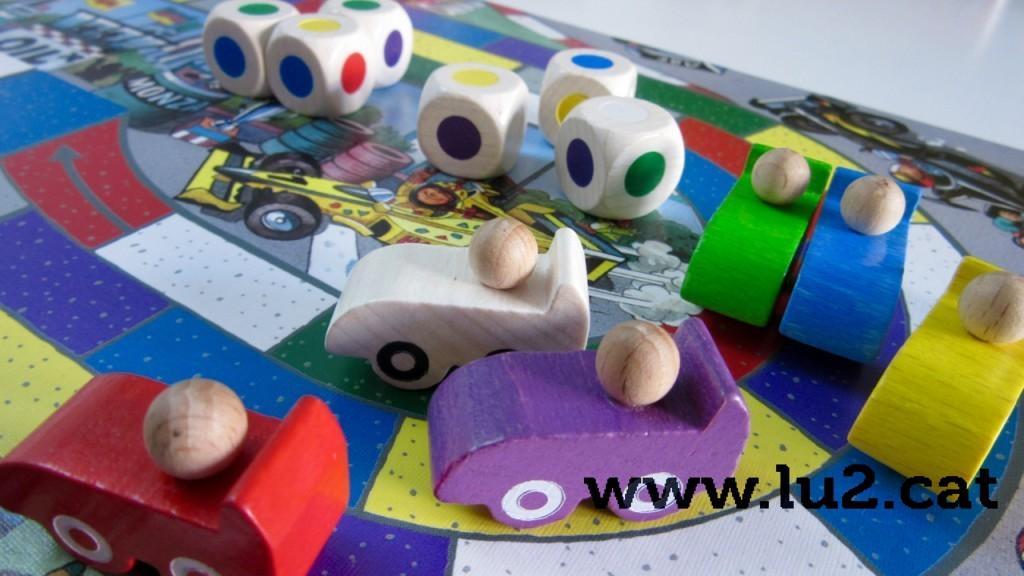 Taller de jocs de taula a Mas Pintat
