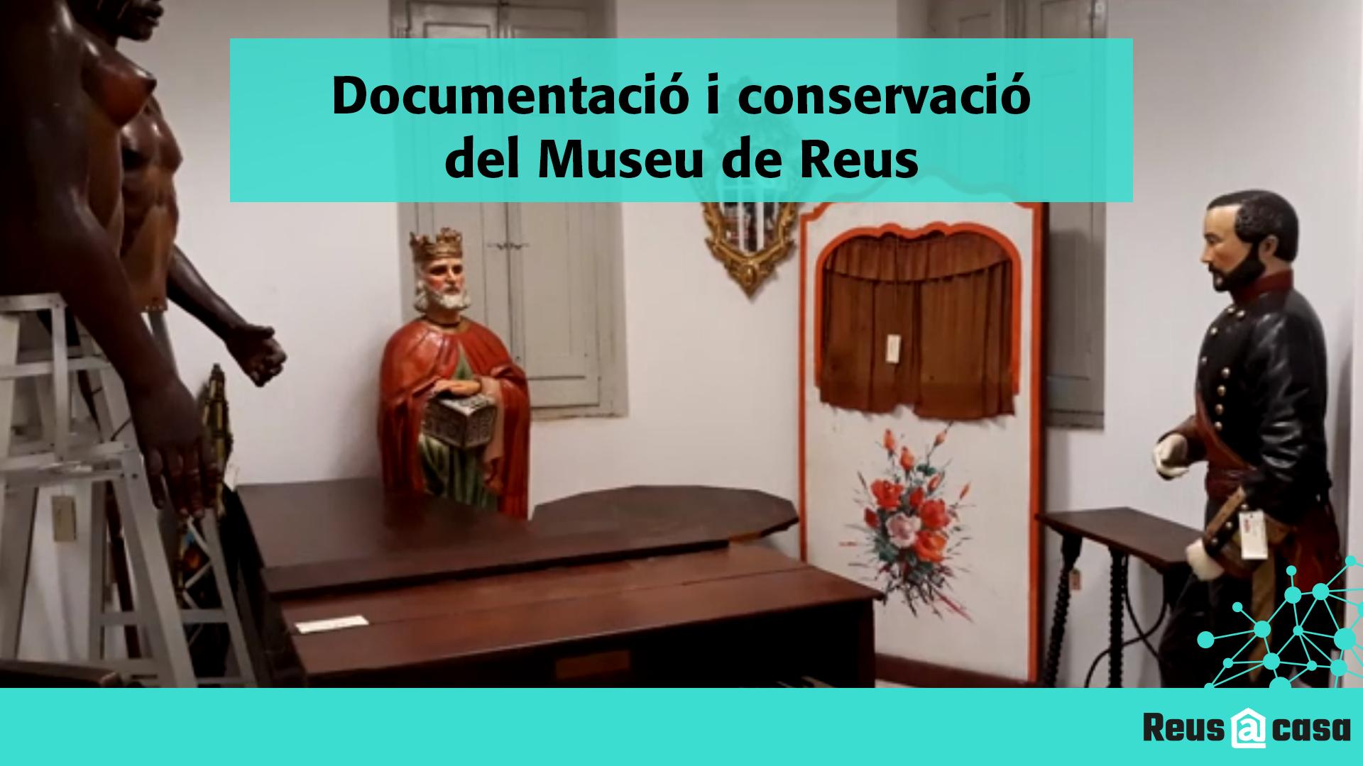 Dia Internacional dels Museus: Sala de reserva. Documentació i conservació