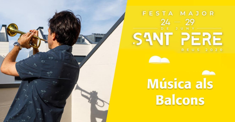 Sant Pere 2020: Música als Balcons