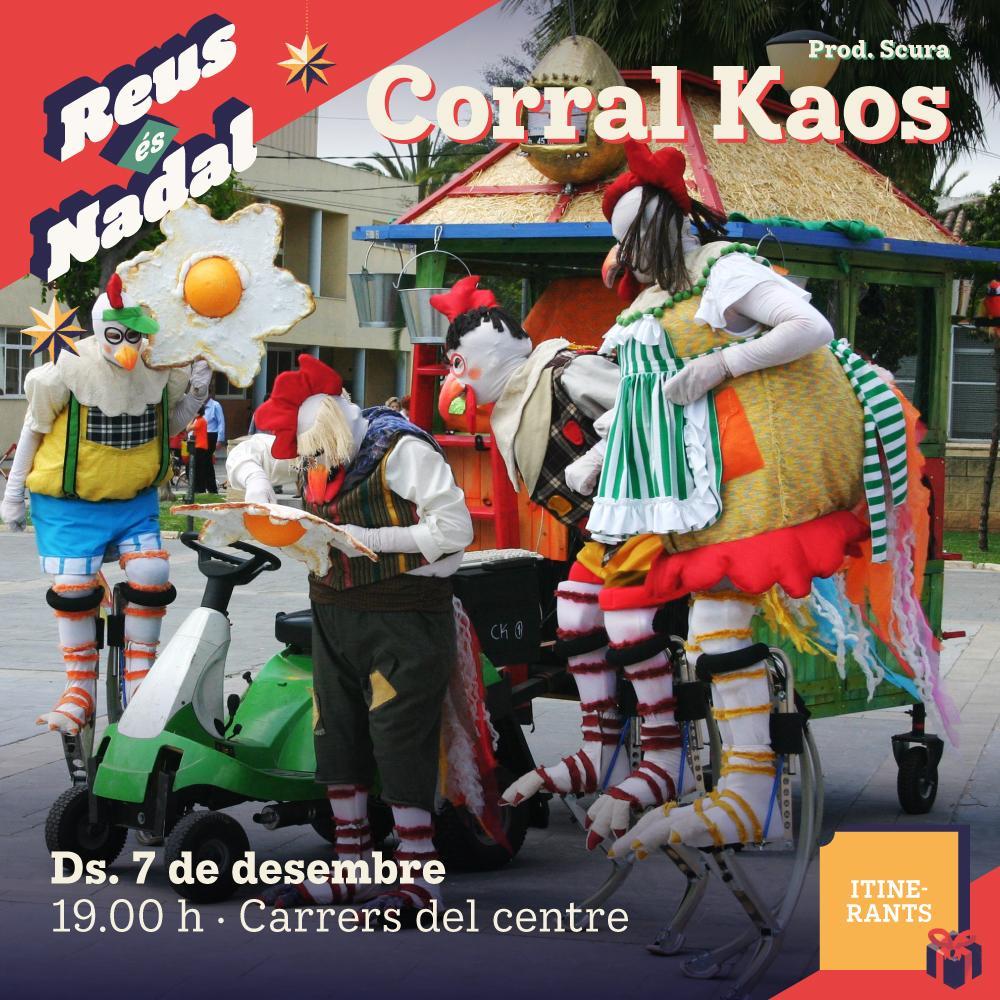 Espectacle itinerant: Kaos Corral