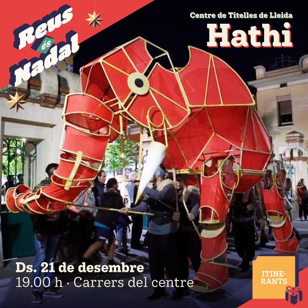 Espectacle itinerant: Hathi
