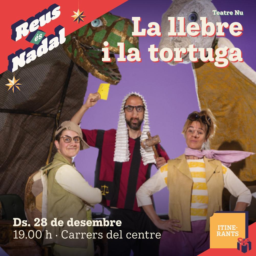 Espectacle itinerant: La Llebre i la Tortuga
