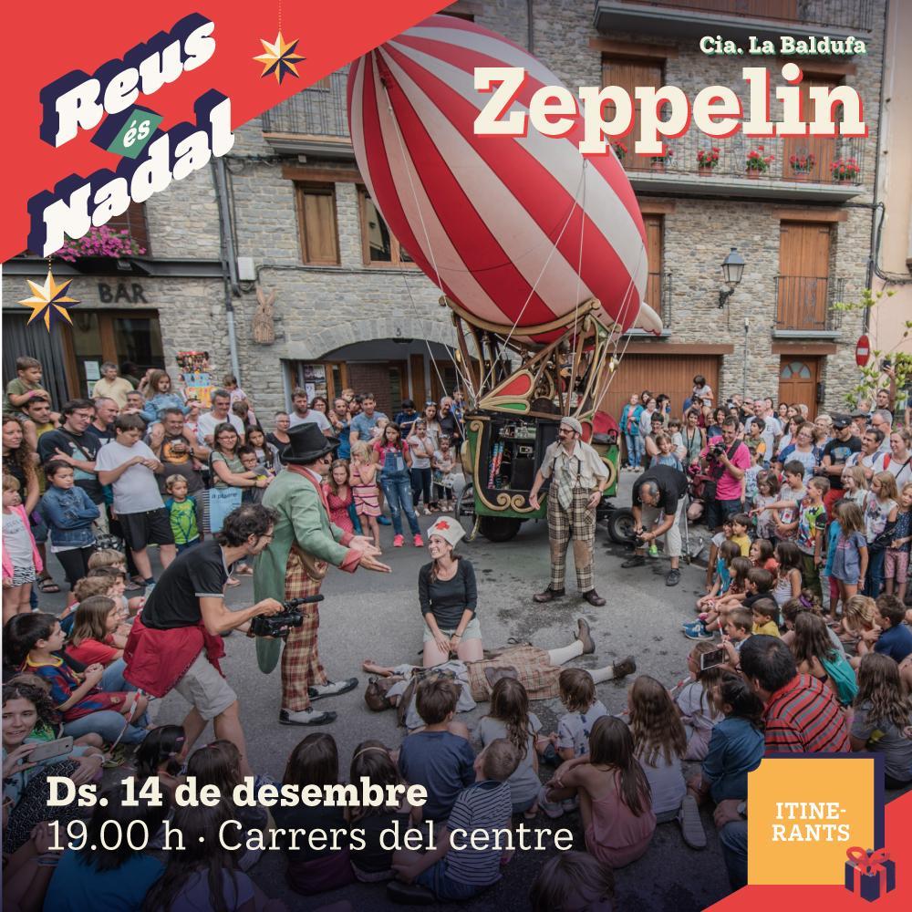 Espectacle itinerant: Zeppelin