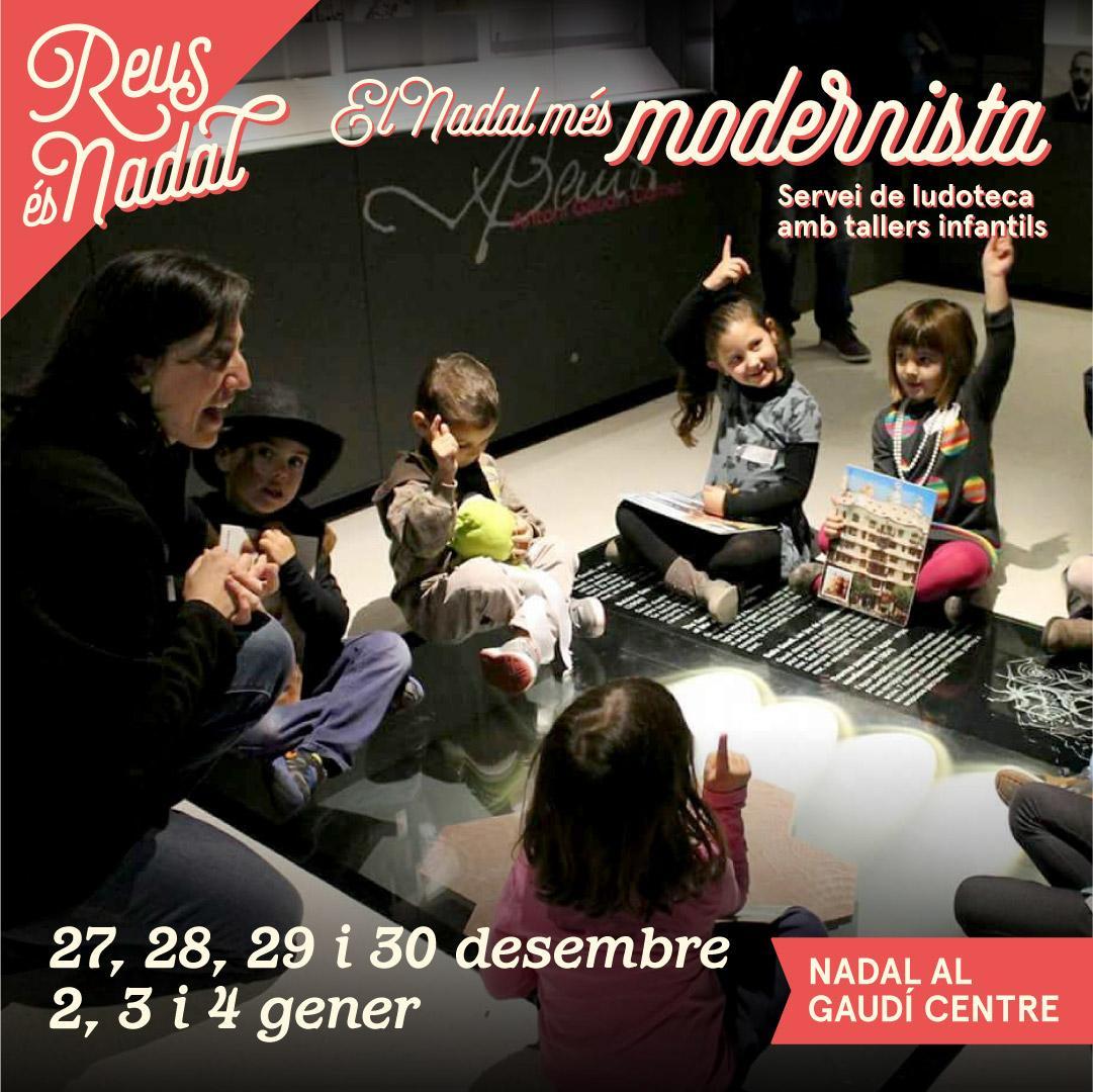 Taller infantil: El Nadal més modernista