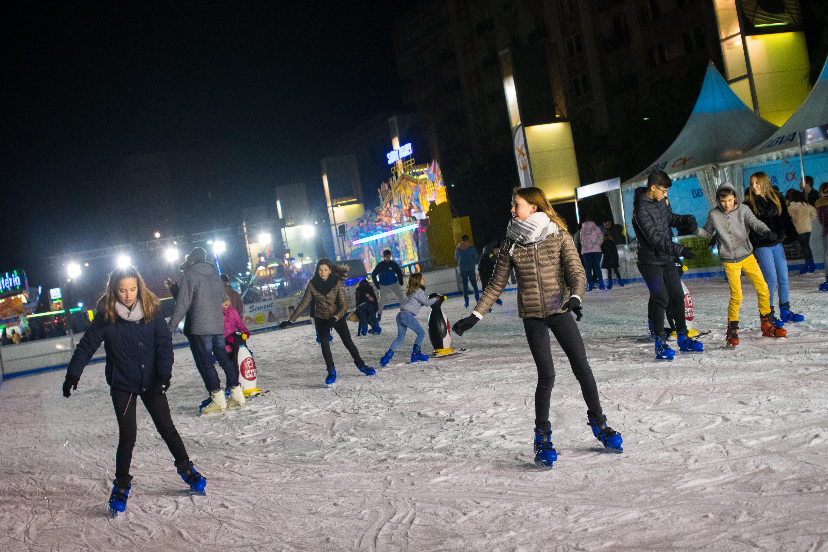 Pista de patinatge sobre gel E