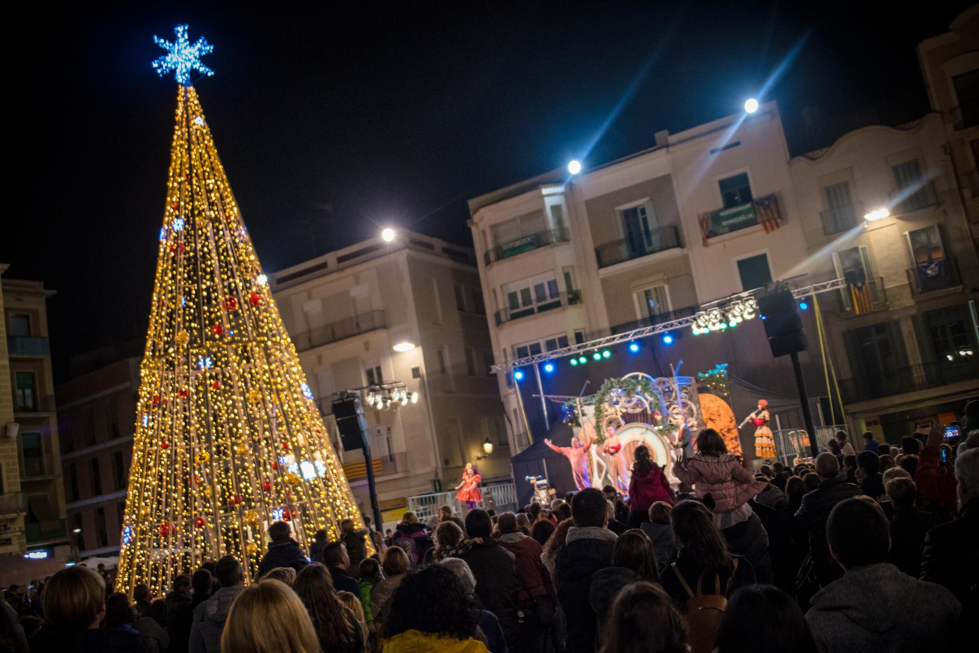 Espectacle Inaugural de l'encesa dels llums de Nadal