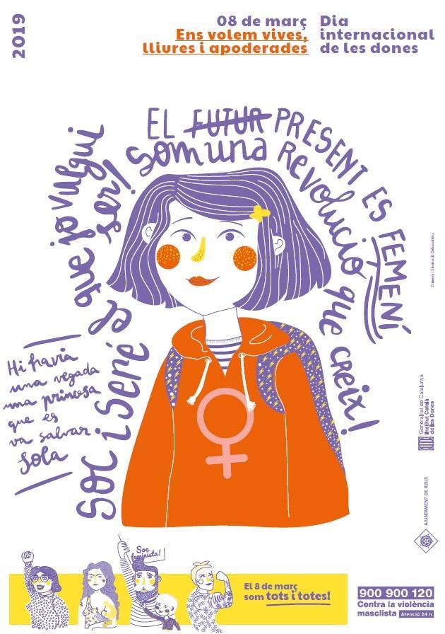 Commemoració Referents d'Igualtat pel dia internacional de les Dones