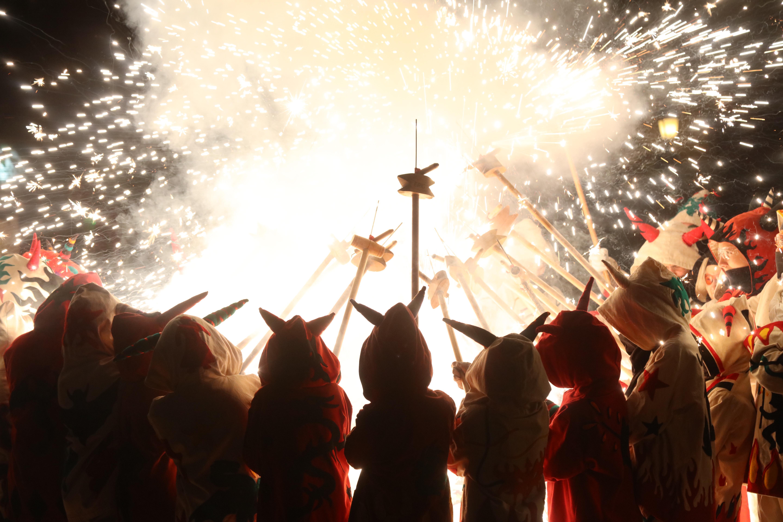Sant Pere 2021: Actuació de foc de la nit de Sant Joan